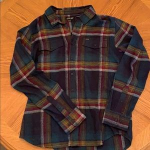 Men's Dark Seas flannel
